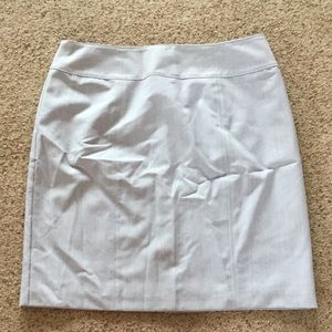 Light Grey Business Skirt